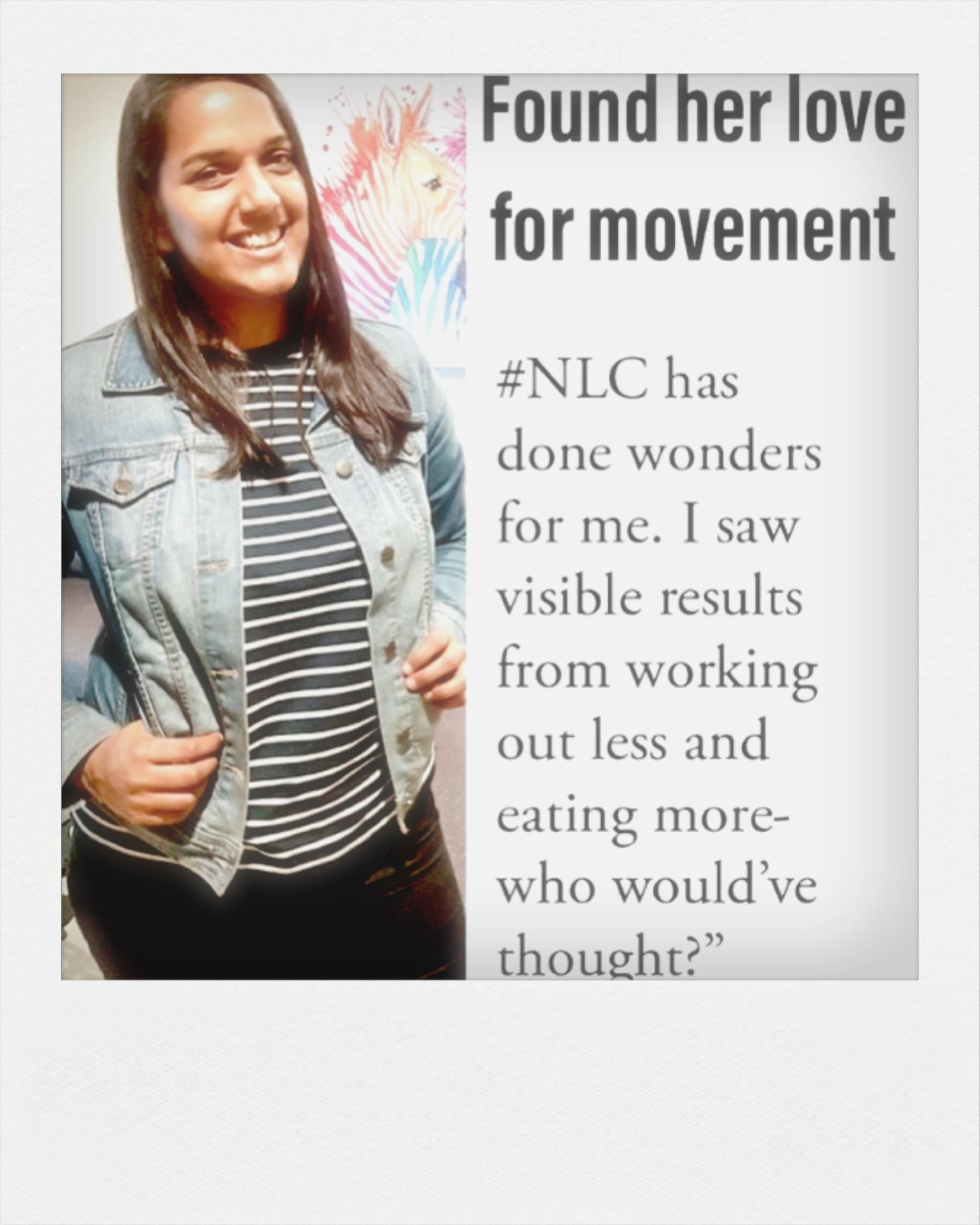 Nats Levi, NLC, NLC move me, group fitness, movement, nourishment, restoration